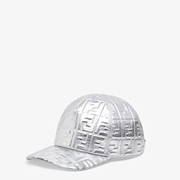 FENDI BASEBALL CAP - Fendi Prints On leather baseball cap - view 1 thumbnail