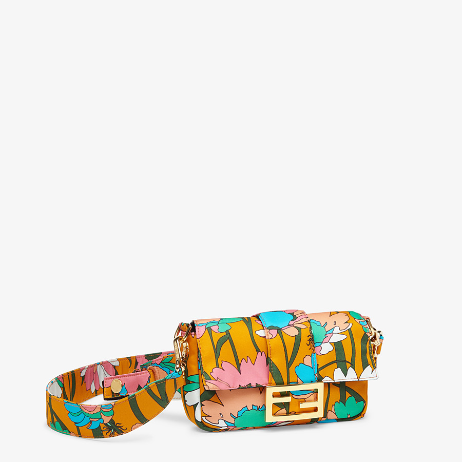 FENDI BAGUETTE - Multicolor nylon bag - view 3 detail