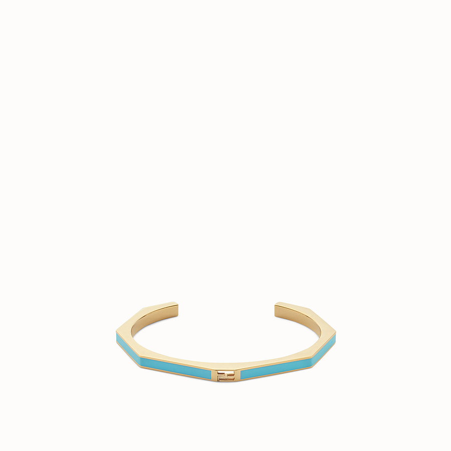 FENDI BAGUETTE BRACELET - Polished turquoise Baguette bangle - view 1 detail