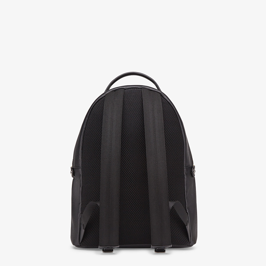FENDI PEEKABOO BACKPACK - Black leather backpack - view 4 detail
