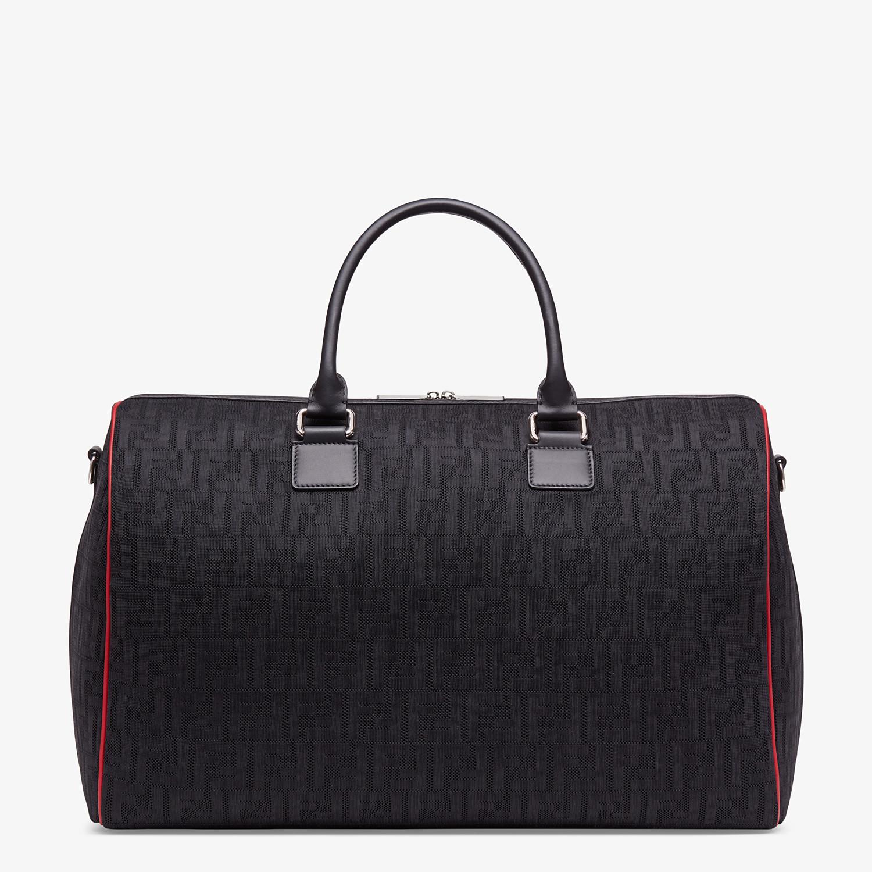 FENDI TRAVEL BAG - Large bag in black tech fabric - view 3 detail