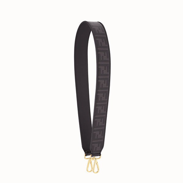 FENDI STRAP YOU - Black fabric shoulder strap. - view 1 small thumbnail