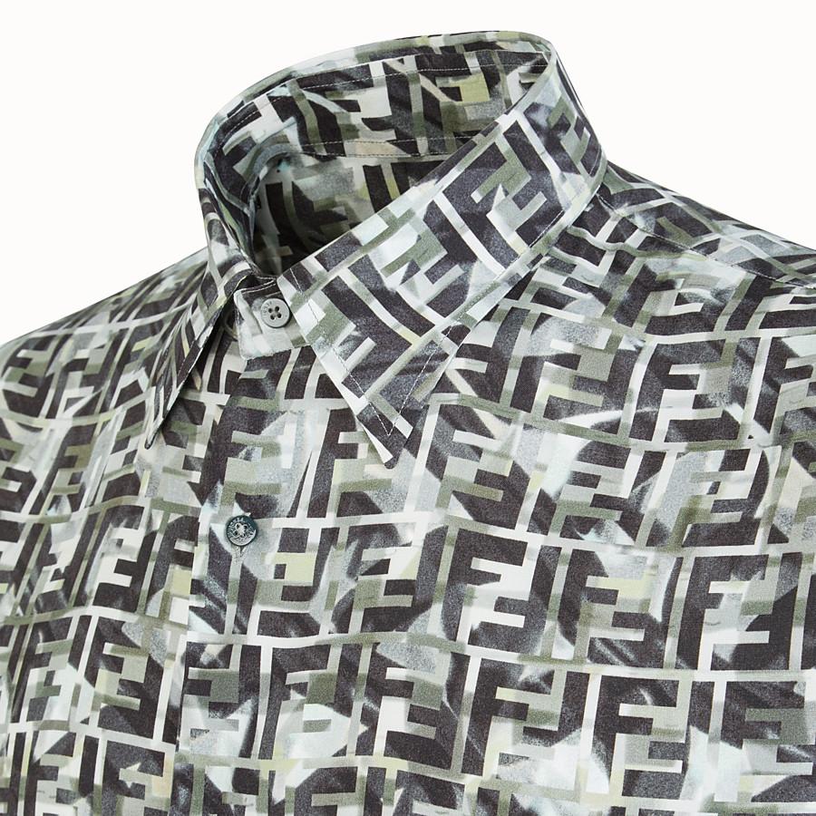 FENDI SHIRT - Multicolour viscose shirt - view 3 detail