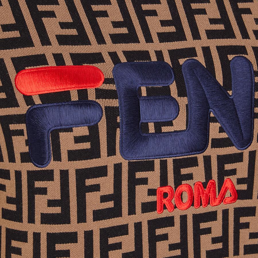FENDI PULLOVER - Multicolor fabric sweater - view 3 detail