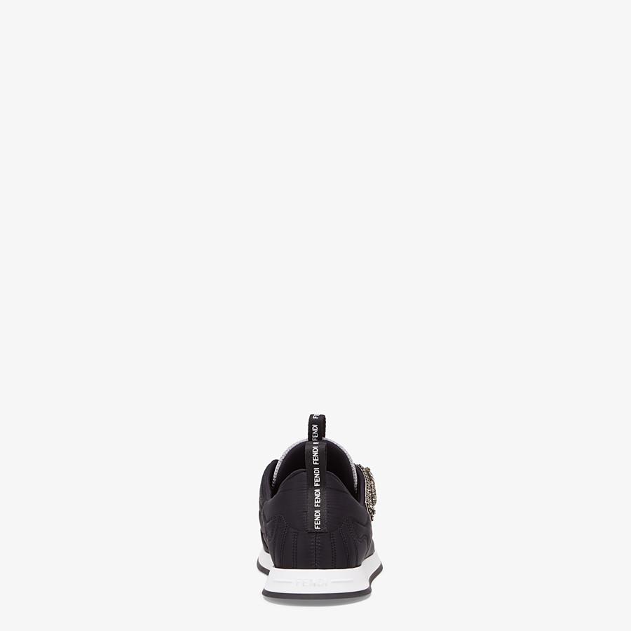FENDI SNEAKERS - Sneaker aus Satin in Schwarz - view 3 detail