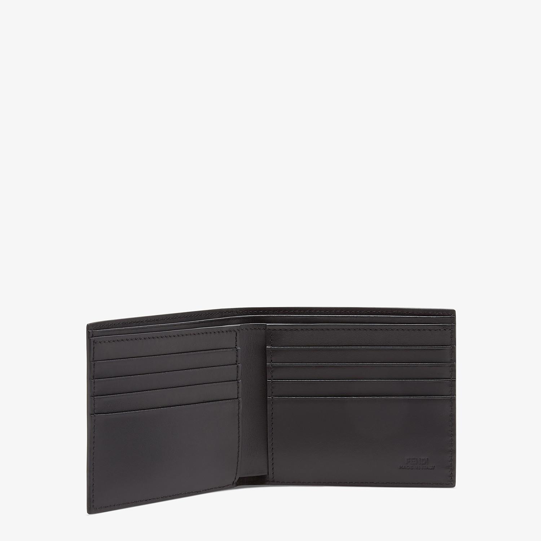 FENDI WALLET - Brown fabric bi-fold - view 3 detail