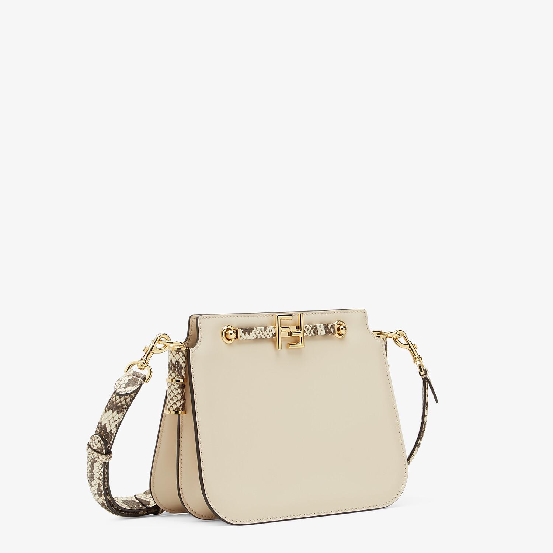 FENDI FENDI TOUCH - White leather bag - view 3 detail