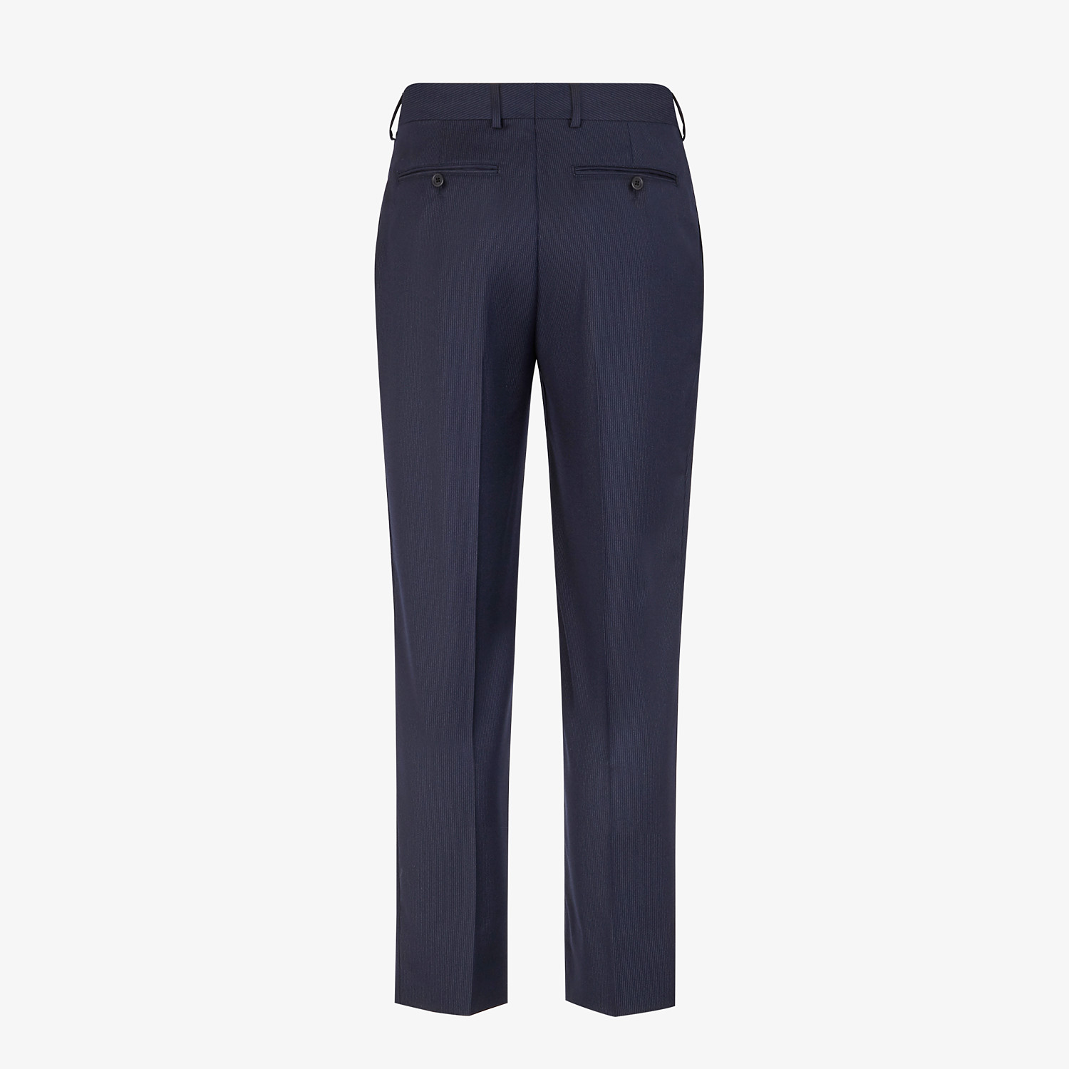 FENDI TROUSERS - Multicolour wool and silk trousers - view 2 detail