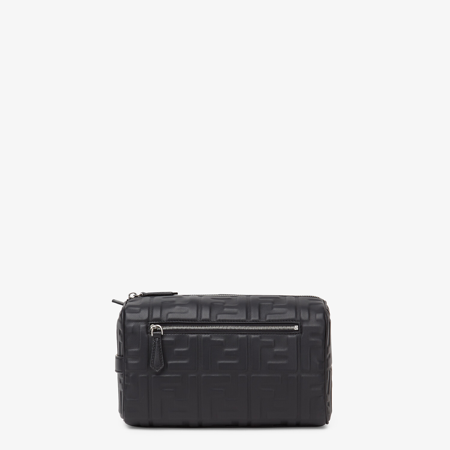 FENDI TRAVEL CASE - Black nappa leather toiletry case - view 1 detail