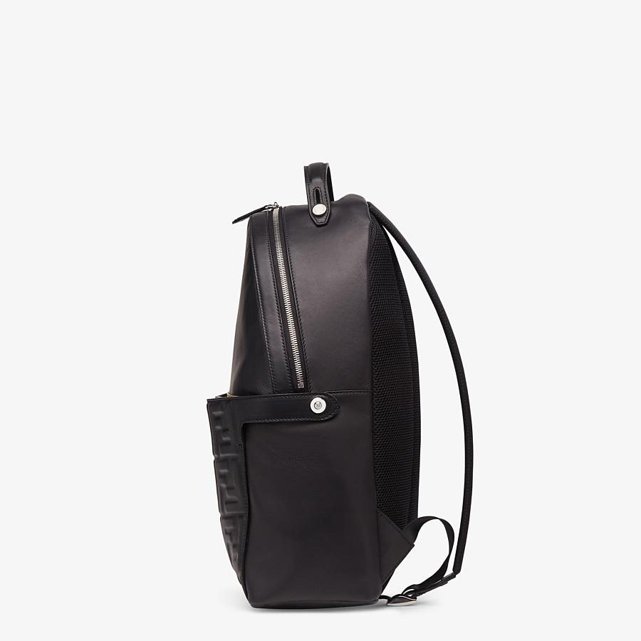 FENDI PEEKABOO BACKPACK - Black nappa leather backpack - view 3 detail