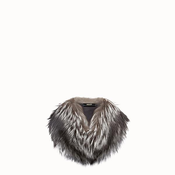 FENDI COLLAR - Natural fox collar - view 1 small thumbnail