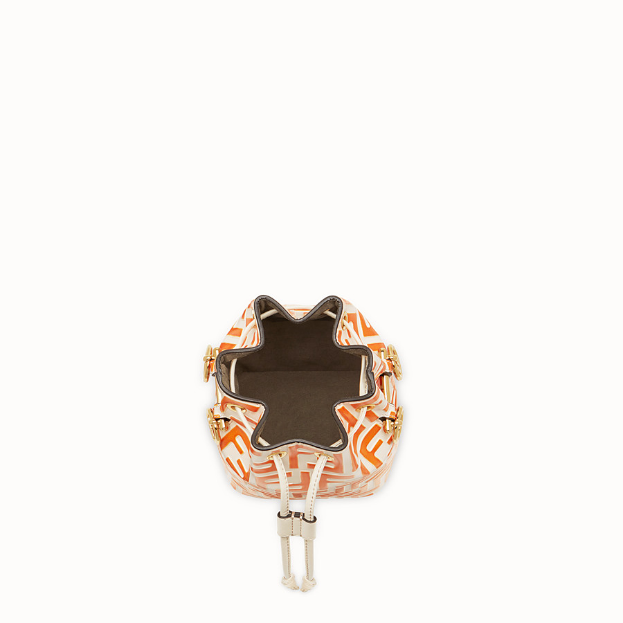 FENDI MON TRESOR - Pink leather mini-bag - view 4 detail
