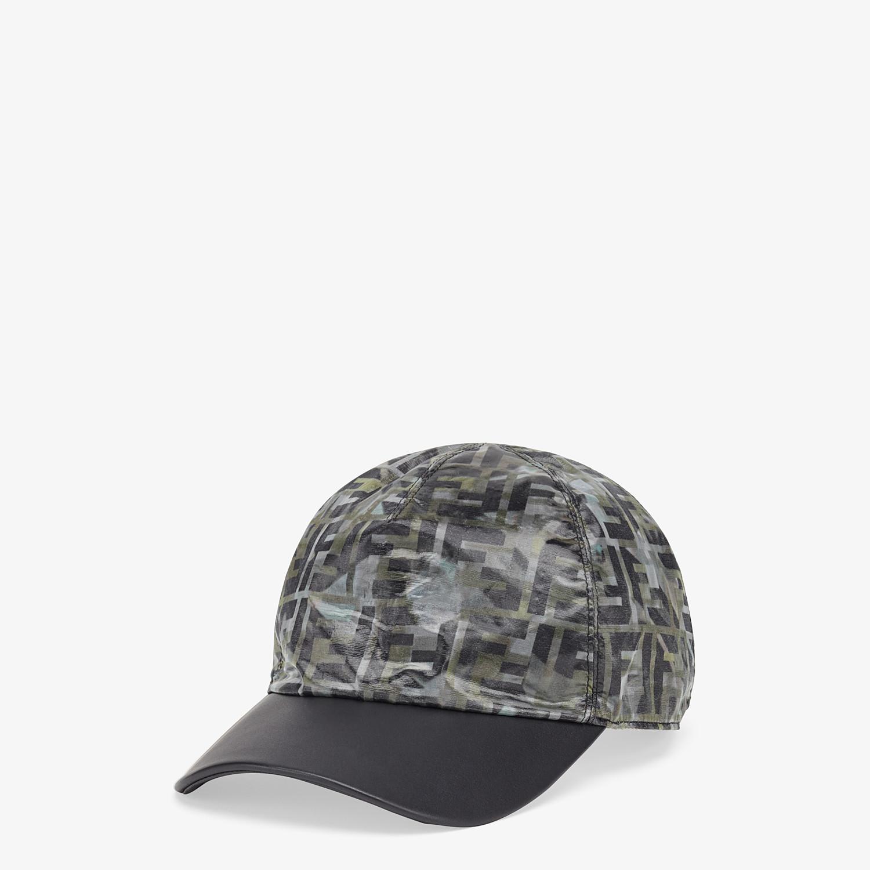 FENDI HAT - Multicolour nylon baseball cap - view 1 detail
