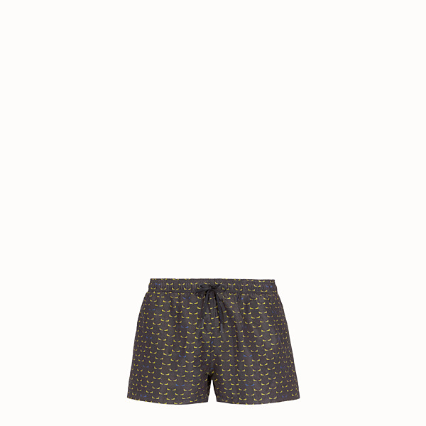 FENDI SWIM SHORTS - Multicolour tech fabric shorts - view 1 small thumbnail