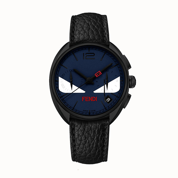 FENDI MOMENTO FENDI BUGS - Chronograph watch with strap - view 1 small thumbnail