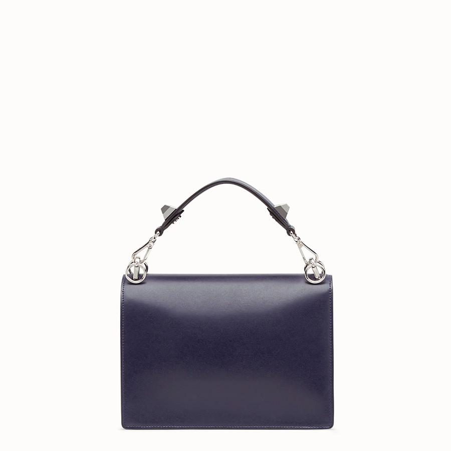 FENDI KAN I - Blue leather bag - view 3 detail