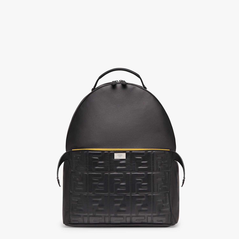 FENDI PEEKABOO BACKPACK - Black nappa leather backpack - view 1 detail