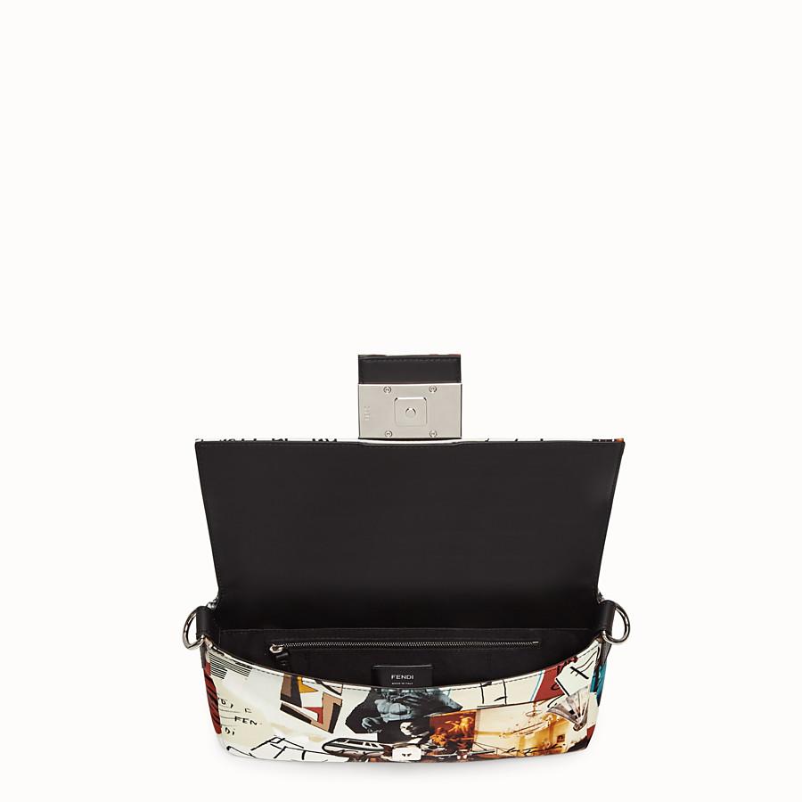 FENDI BAGUETTE - Tasche aus Nylon Mehrfarbig - view 5 detail