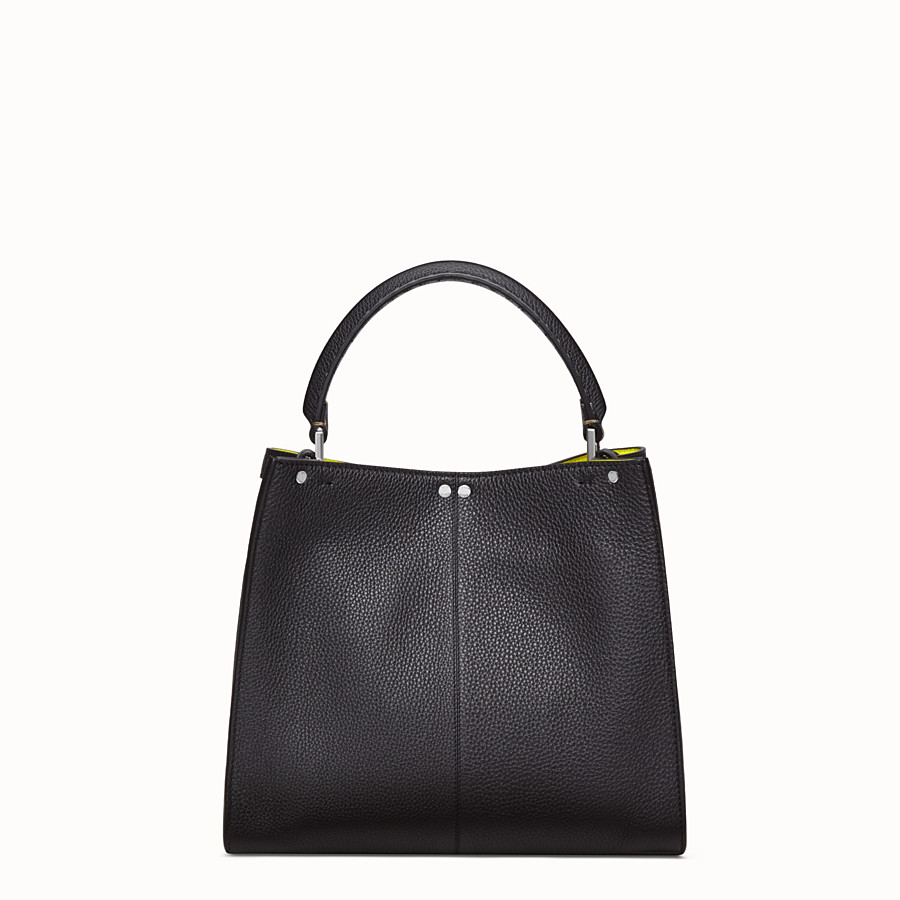 FENDI PEEKABOO X-LITE MEDIUM - Sac Fendi Roma Amor en cuir - view 4 detail