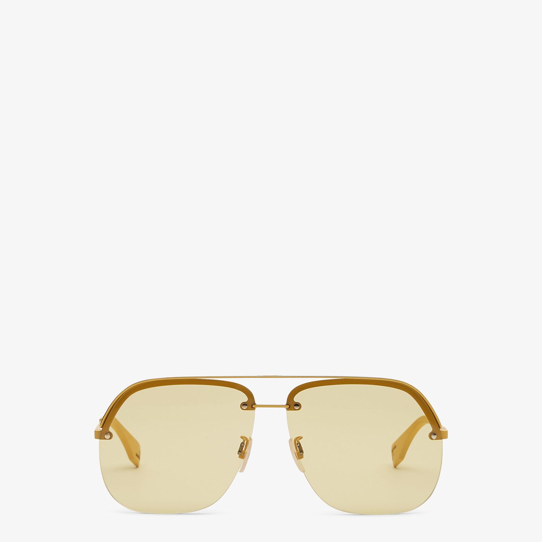 FENDI FENDI PACK - Yellow sunglasses - view 1 detail