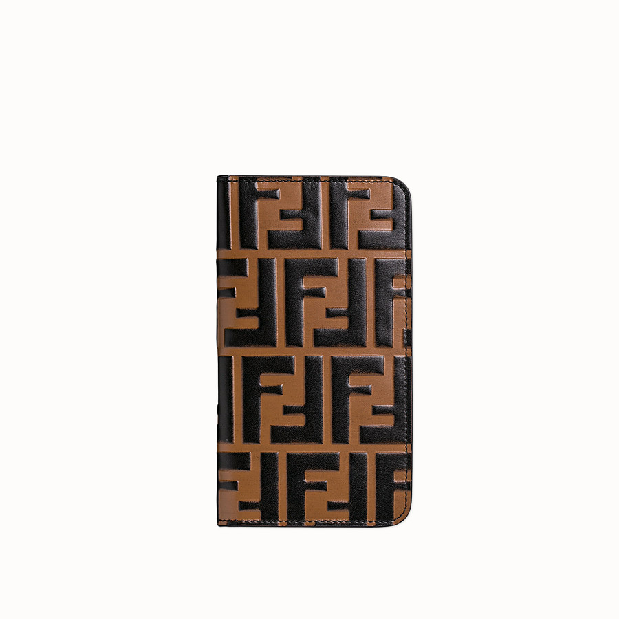 FENDI iPHONE X CASE - Multicolour flip cover - view 1 detail