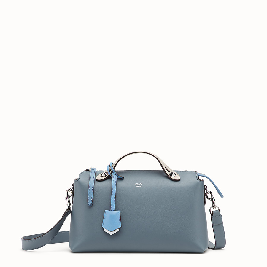 FENDI BY THE WAY REGULAR - Sac Boston en cuir bleu - view 1 detail