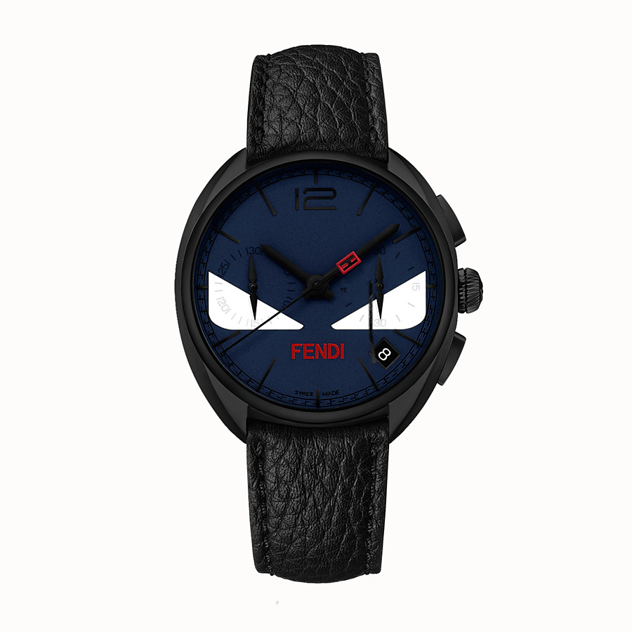 FENDI MOMENTO FENDI BUGS - Chronograph watch with strap - view 1 detail
