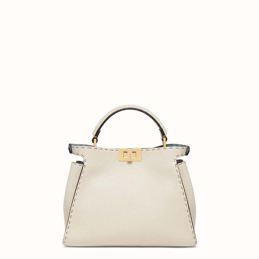 FENDI PEEKABOO ICONIC ESSENTIALLY - Fendi Roma Amor leather bag - view 4 detail