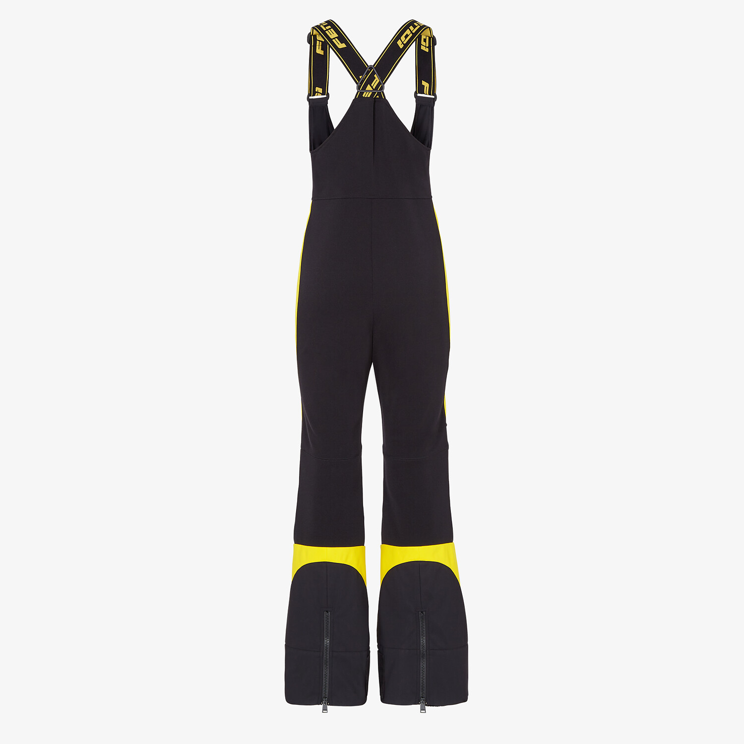 FENDI SKI SUIT - Black tech nylon ski suit - view 2 detail