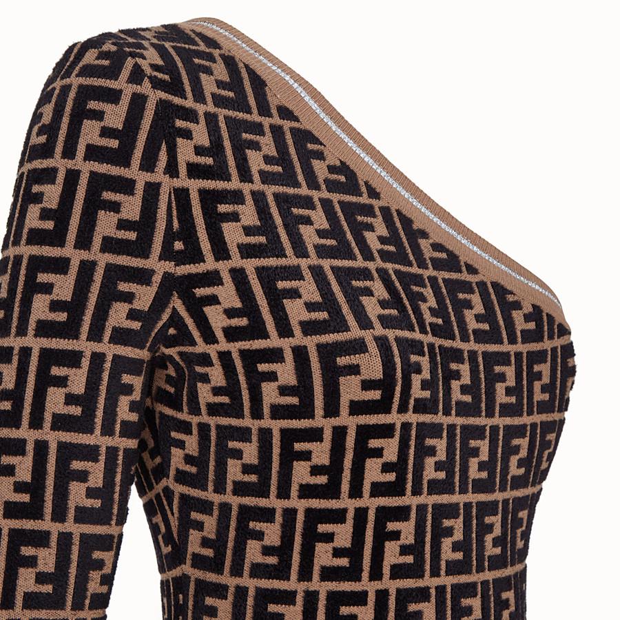 FENDI ABITO - Abito Fendi Prints On in maglia - vista 3 dettaglio