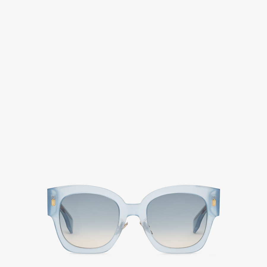 FENDI FENDI ROMA - Light blue acetate sunglasses - view 1 detail