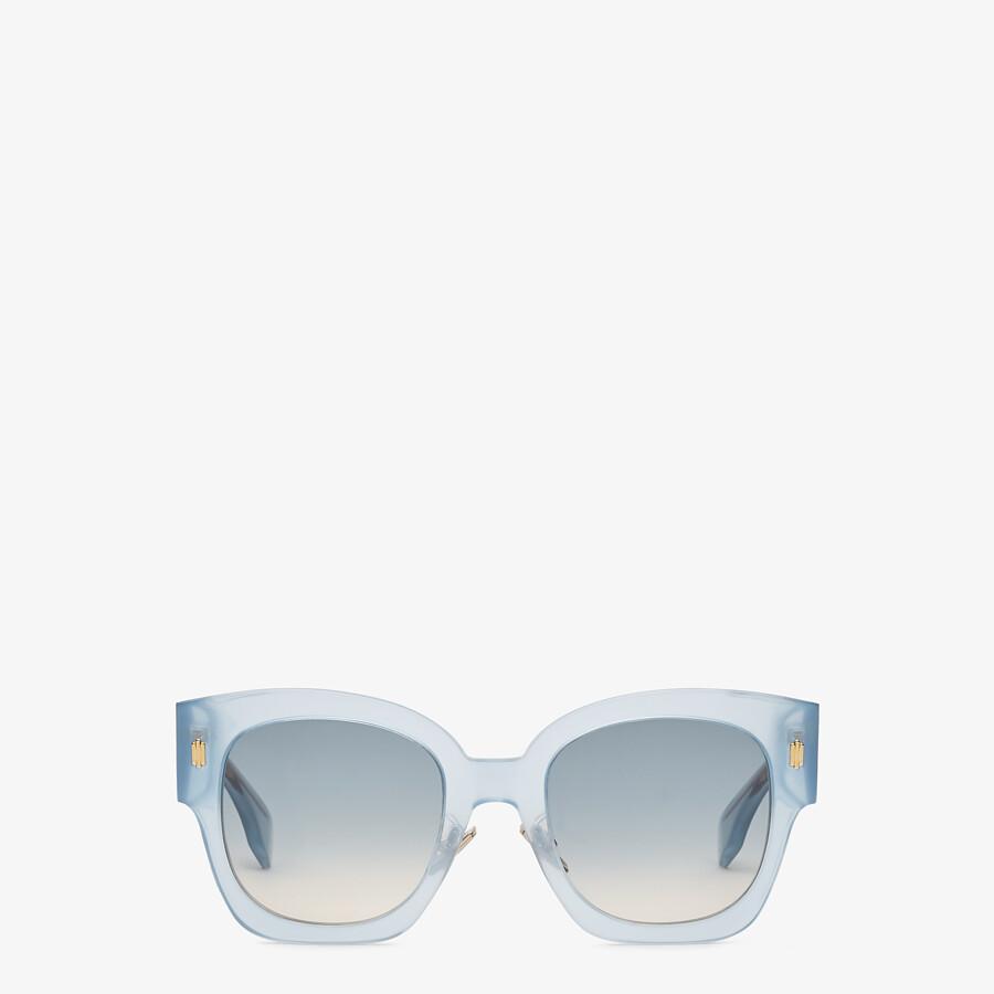 FENDI FENDI ROMA - Sonnenbrille aus Acetat in Hellblau - view 1 detail