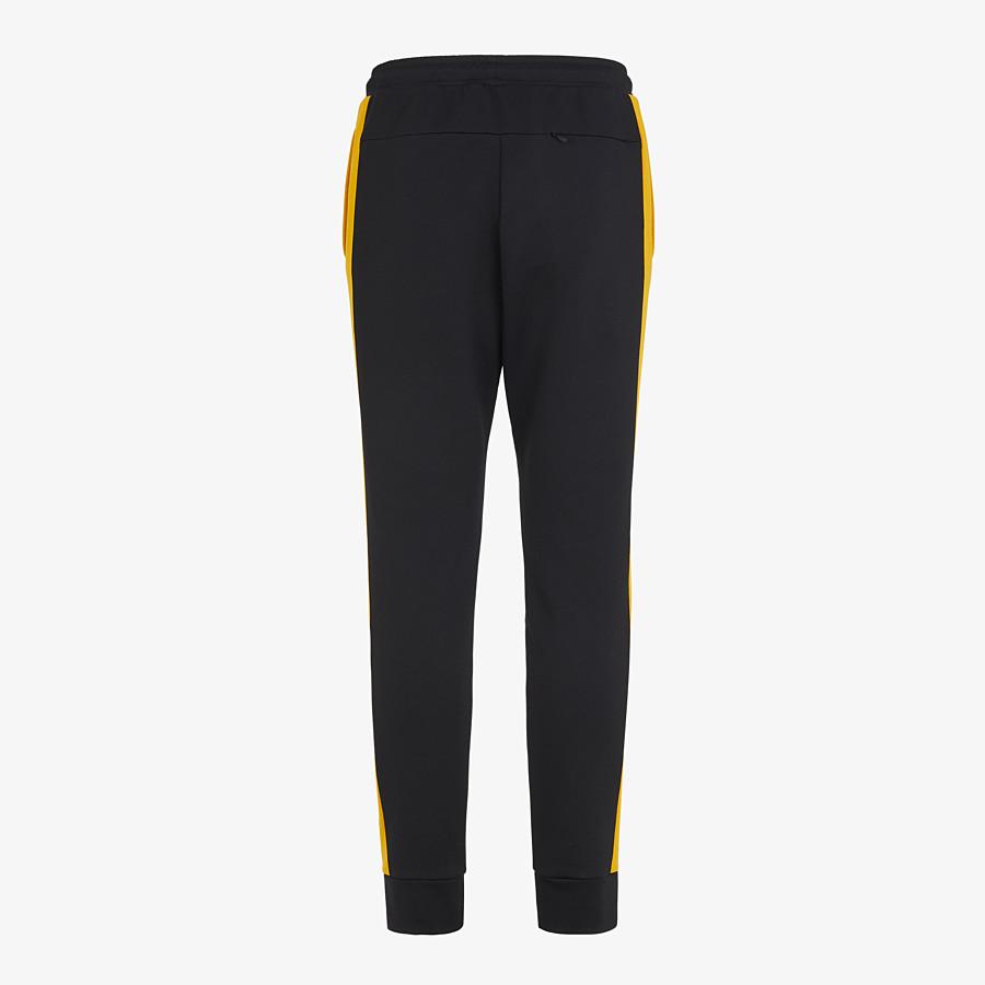 FENDI PANTS - Black cotton pants - view 2 detail