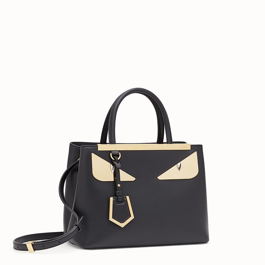 560071a8e1 Black leather bag - PETITE 2JOURS