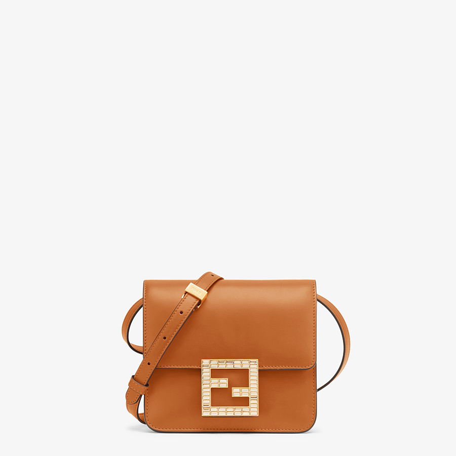 FENDI FENDI FAB - Brown leather bag - view 1 detail