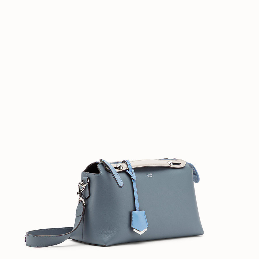 FENDI BY THE WAY REGULAR - Sac Boston en cuir bleu - view 2 detail