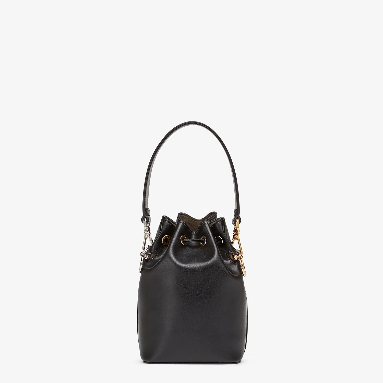 FENDI MON TRESOR - Black leather mini-bag - view 3 detail
