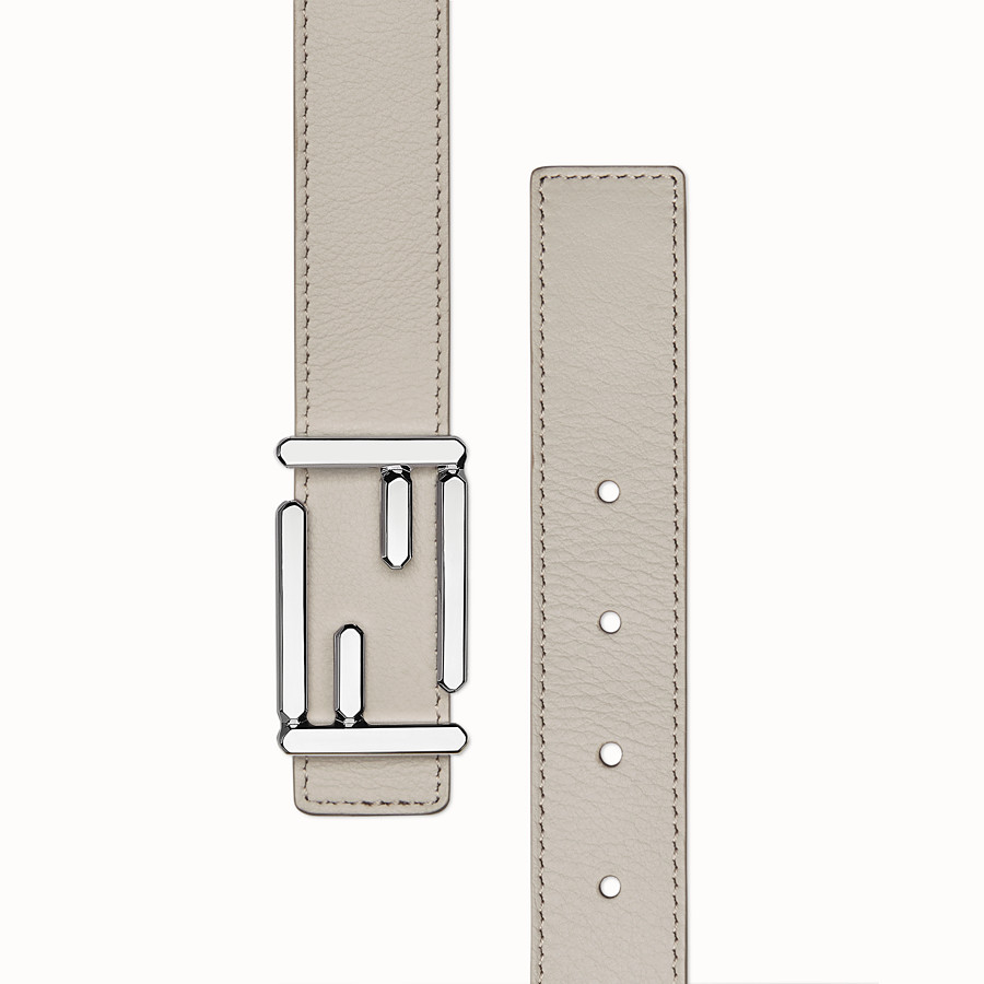 FENDI BAGUETTE BELT - Leather belt with Baguette buckle - view 2 detail