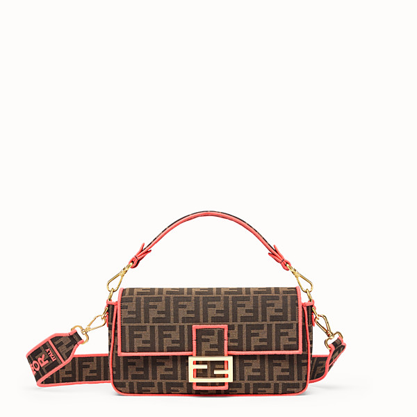 FENDI BAGUETTE - Fendi Roma Amor fabric bag - view 1 small thumbnail