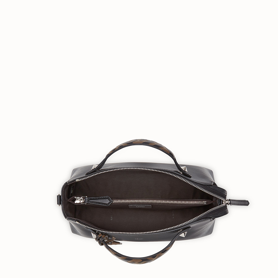 FENDI BY THE WAY REGULAR - Sac Boston en cuir noir - view 4 detail