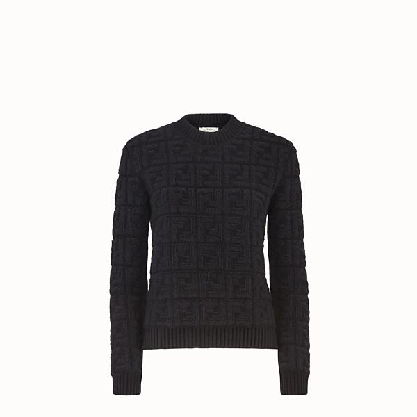 FENDI セーター - ブラックモヘア セーター - view 1 small thumbnail