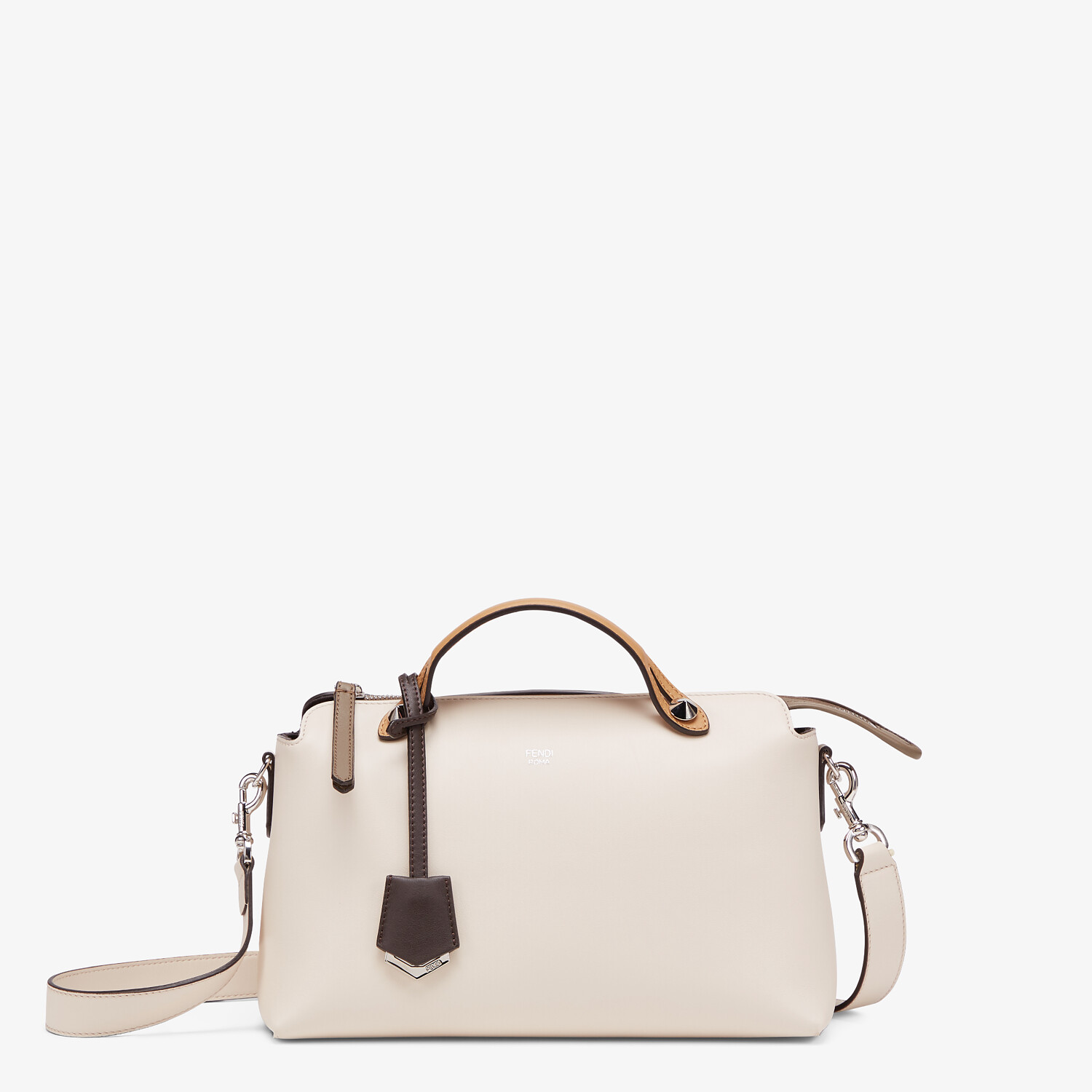 FENDI BY THE WAY MEDIUM - Multicolor leather Boston bag - view 1 detail