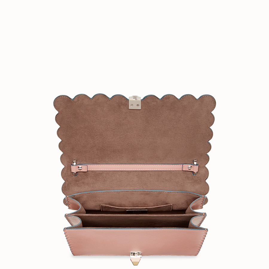 FENDI KAN I - Pink leather bag - view 4 detail