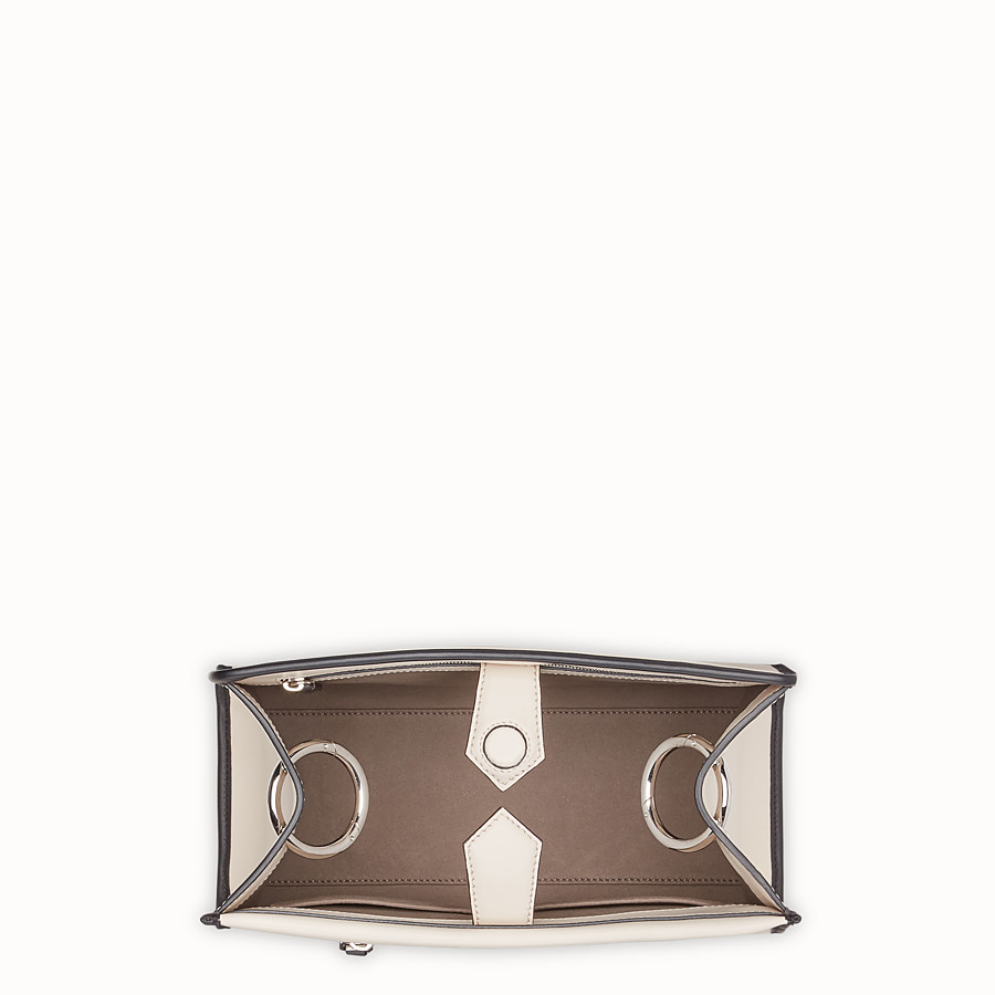 FENDI RUNAWAY SMALL - White leather bag - view 4 detail