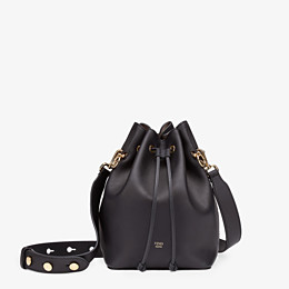 FENDI MON TRESOR - Black leather bag - view 1 thumbnail