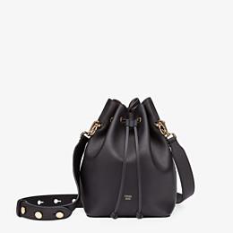 FENDI MON TRESOR - Black leather bag - view 1 thumbnail