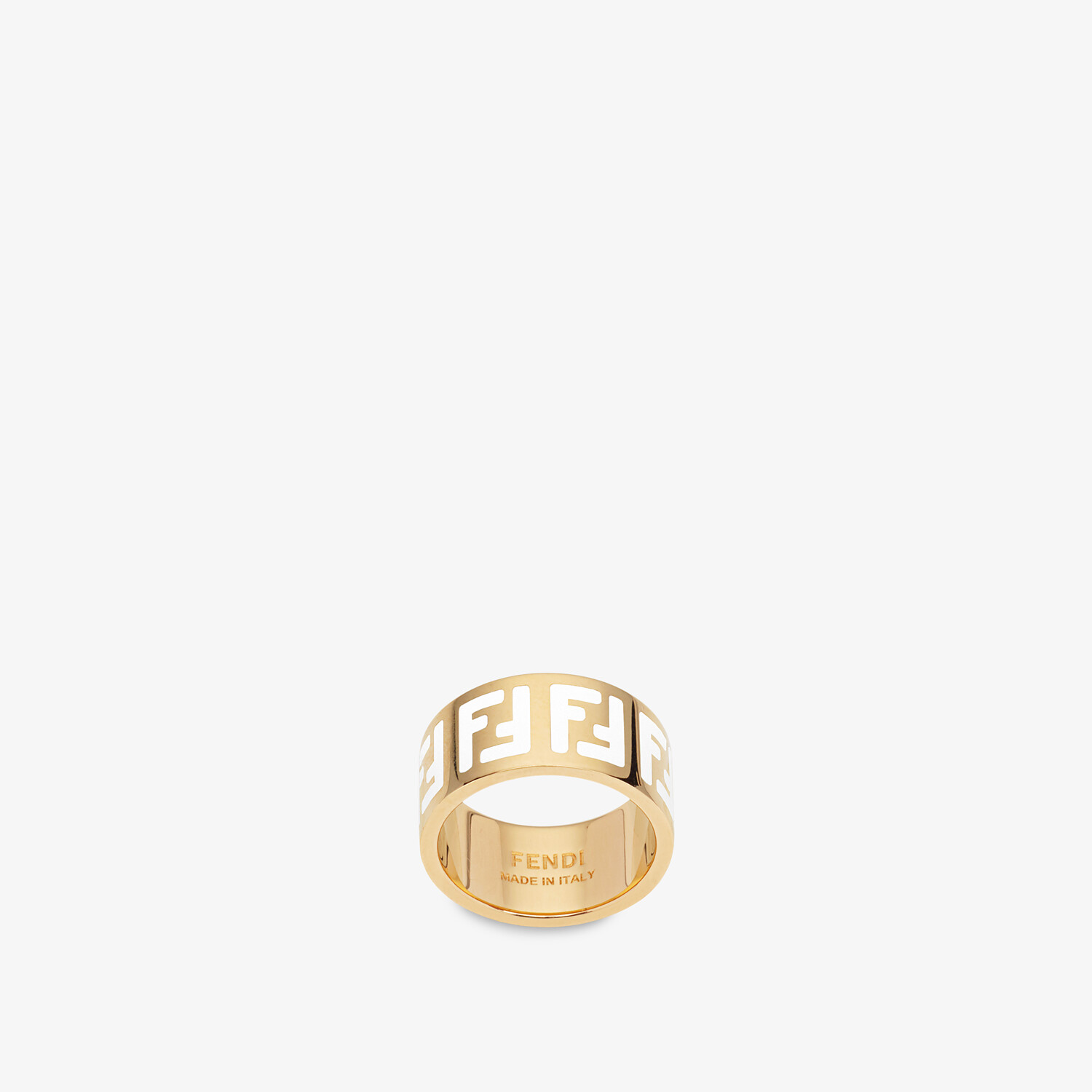 FENDI FF RING - Gold-coloured ring - view 1 detail