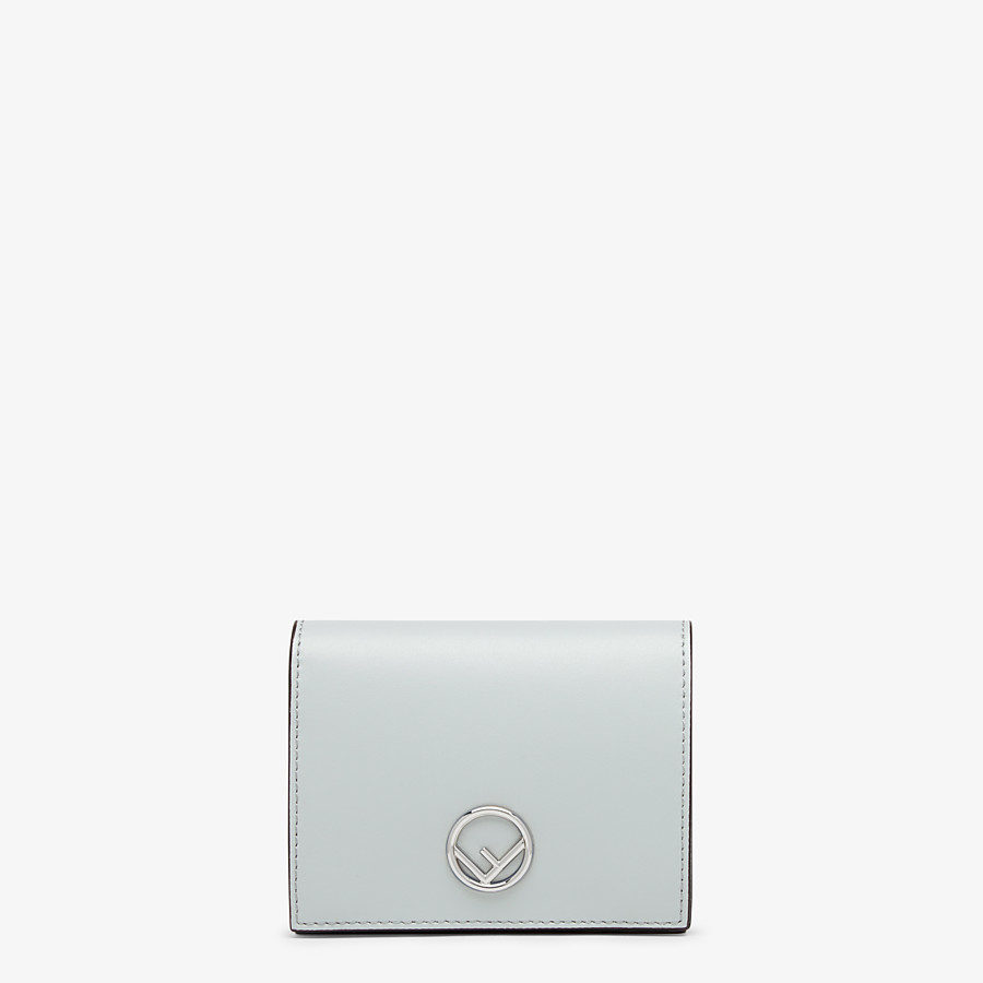 FENDI BIFOLD - Gray leather compact wallet - view 1 detail