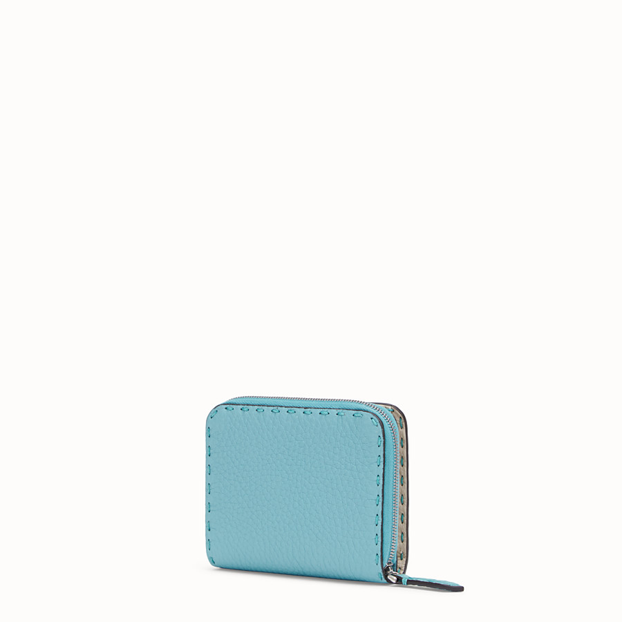 FENDI MEDIUM ZIP-AROUND - Fendi Roma Amor leather wallet - view 2 detail