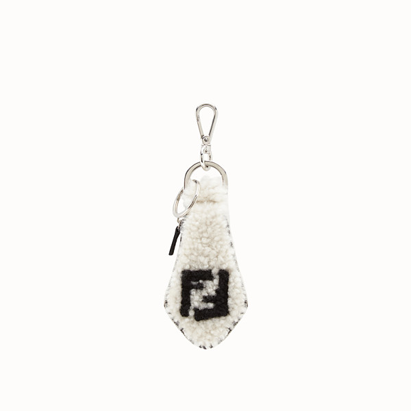 FENDI CHARM - White sheepskin charm - view 1 small thumbnail